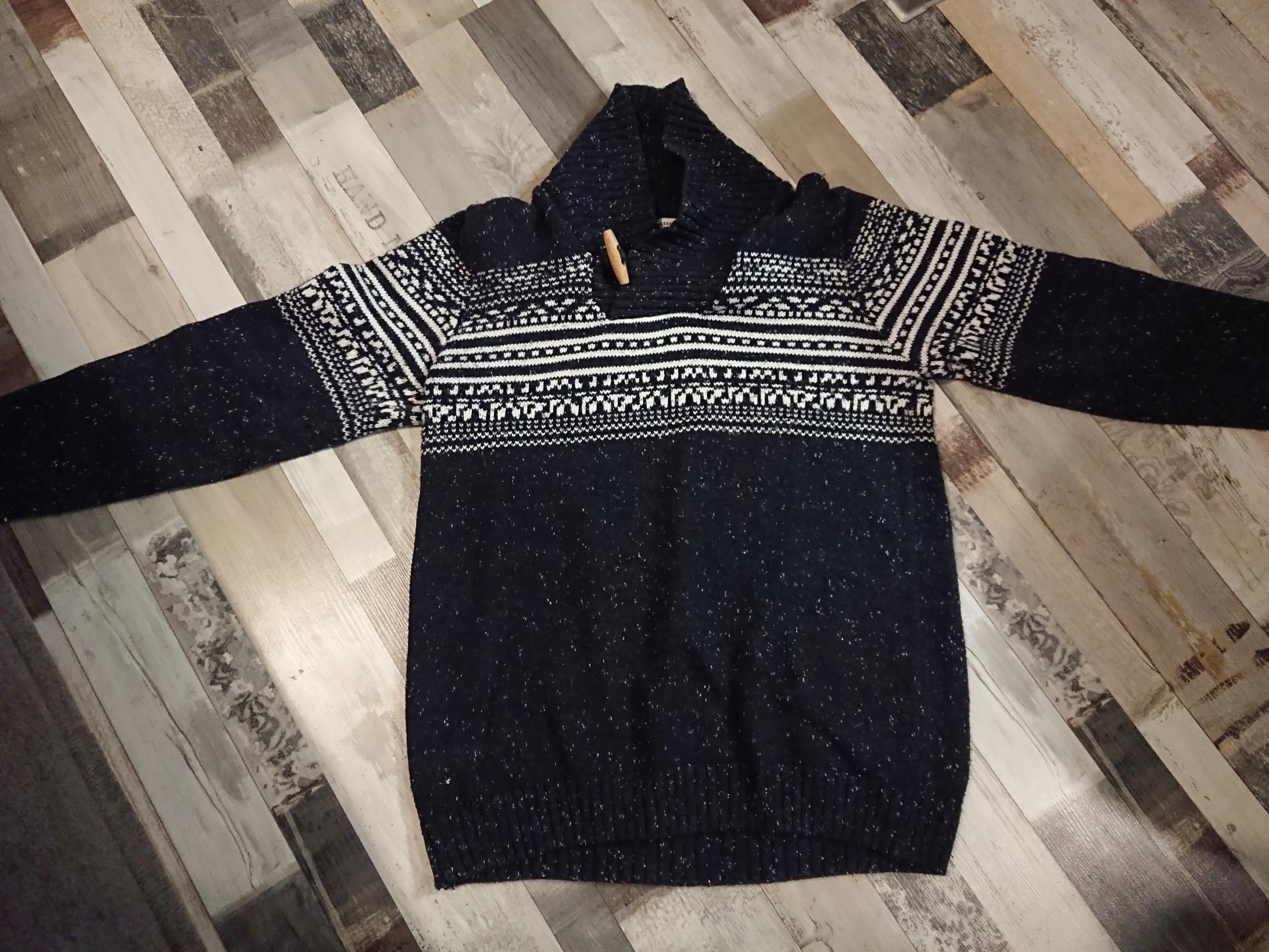 Sweter z kołnierzem r.170 Reserved