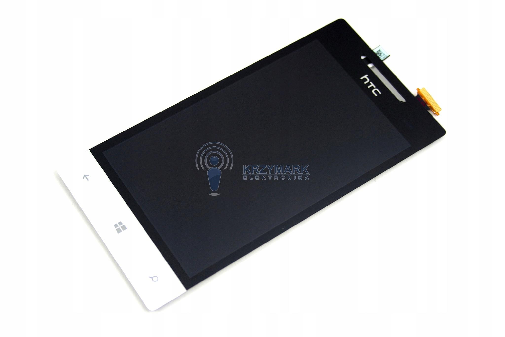 LCD WYŚWIETLACZ DOTYK EKRAN DIGITIZER HTC 8S WP
