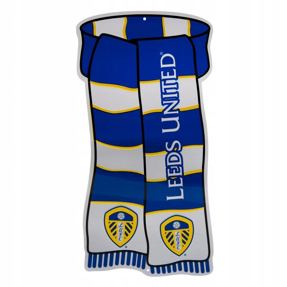 Tablica, tabliczka metalowa Leeds United F.C.