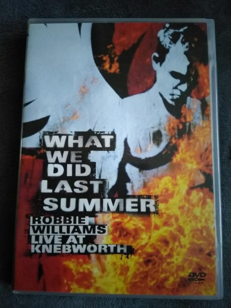 ROBBIE WILLIAMS - WHAT WE DID LAST SUMMER /2DVD/
