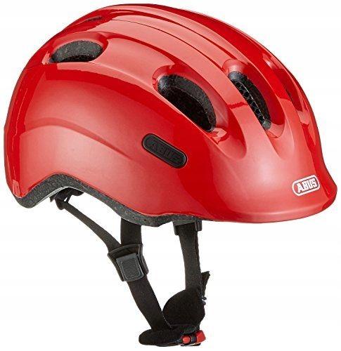 Kask rowerowy Abus Kids Smiley 2.0 czerwony 50-55