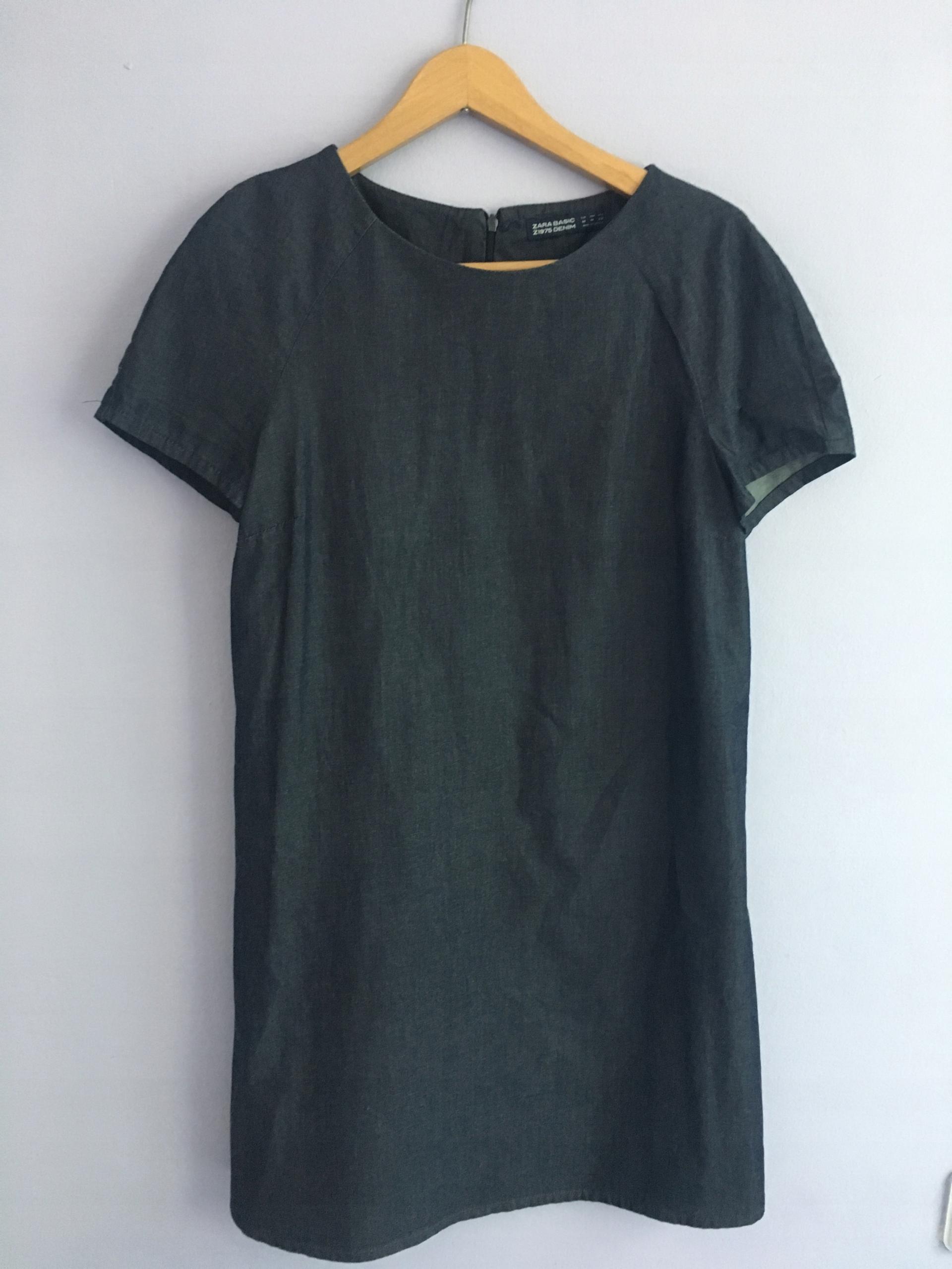 Sukienka ZARA S 36 M 38 oryginalna jeans