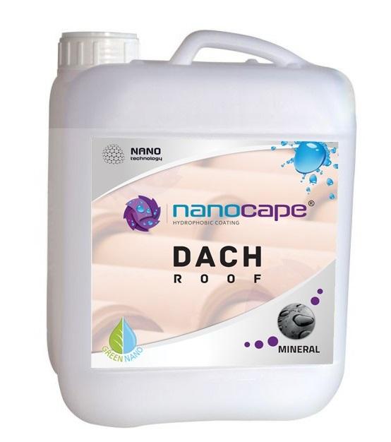 NANOCAPE DO DACHÓW ochrona dachówek impregnat 5L