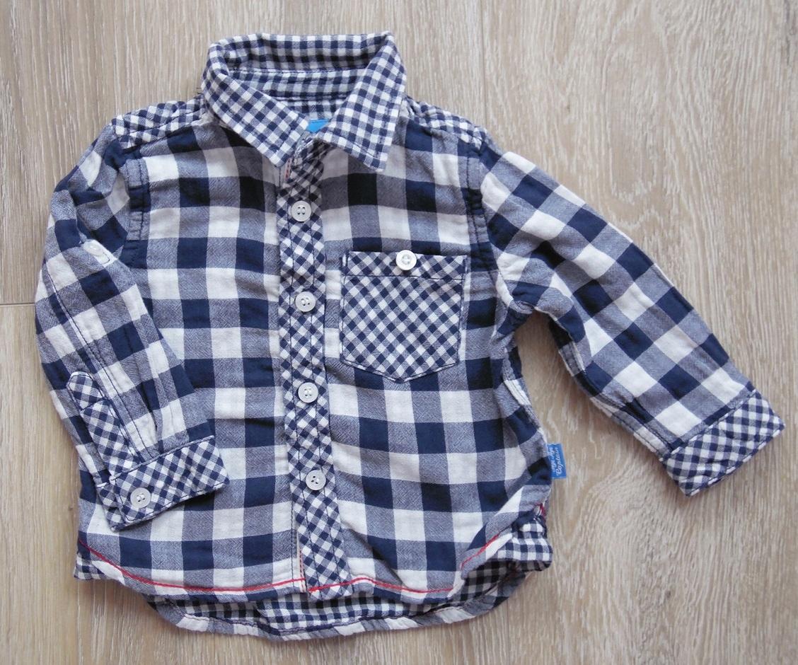 Mothercare koszula 6-9m 74cm krata