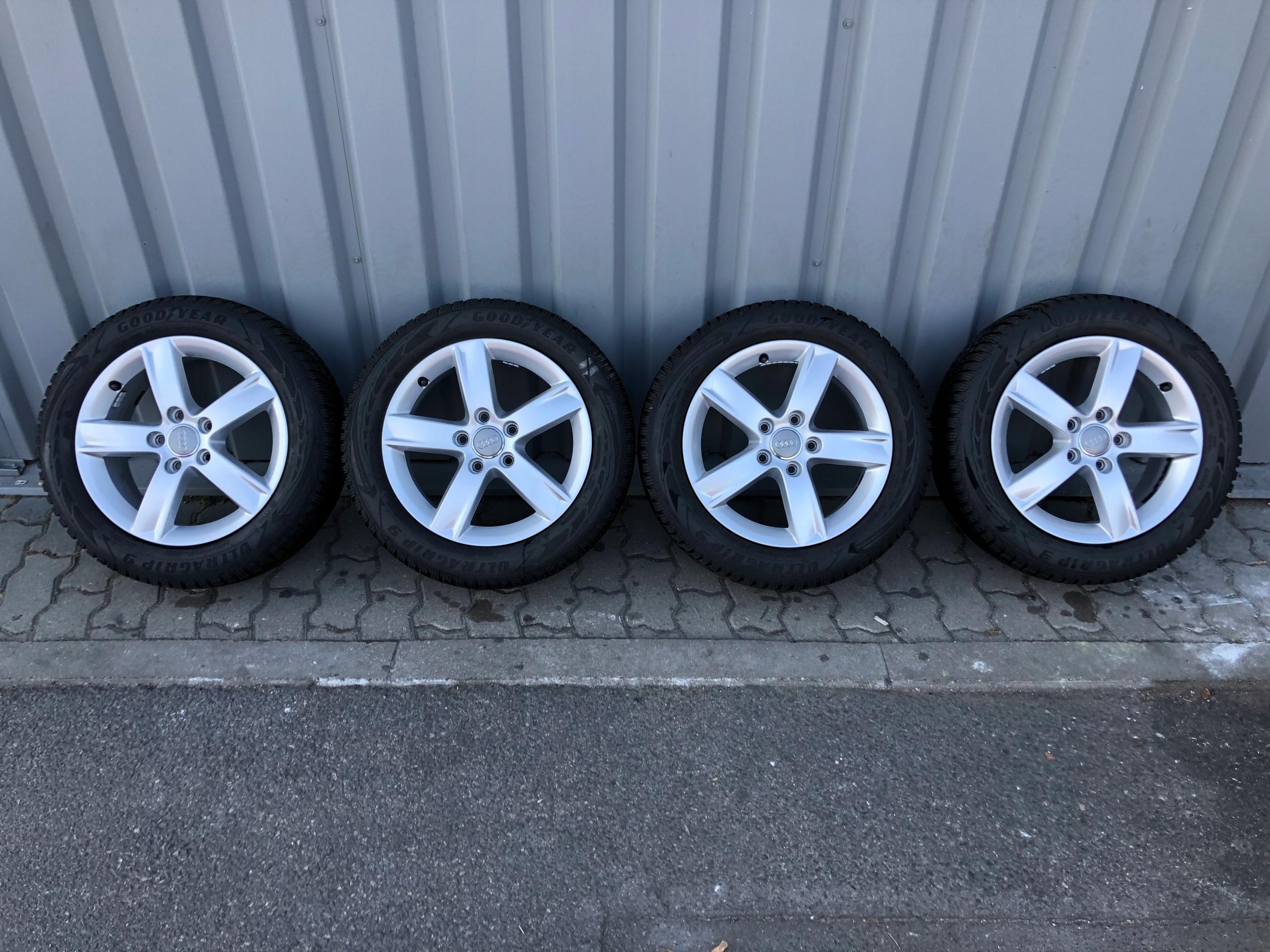Felgi Aluminiowe Z Opony Zimowe 20555r16 Audi A3 7650759156