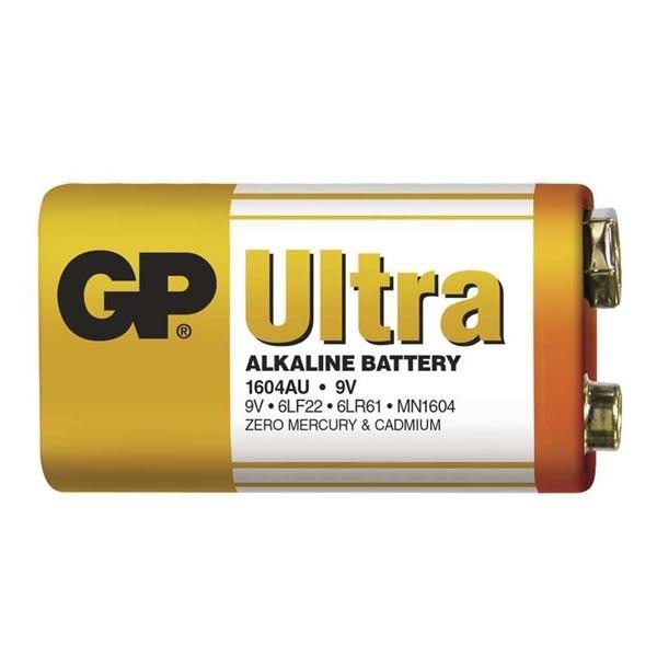 Bateria alkaliczna, R61, 9V, GP, folia, 1-pack, UL
