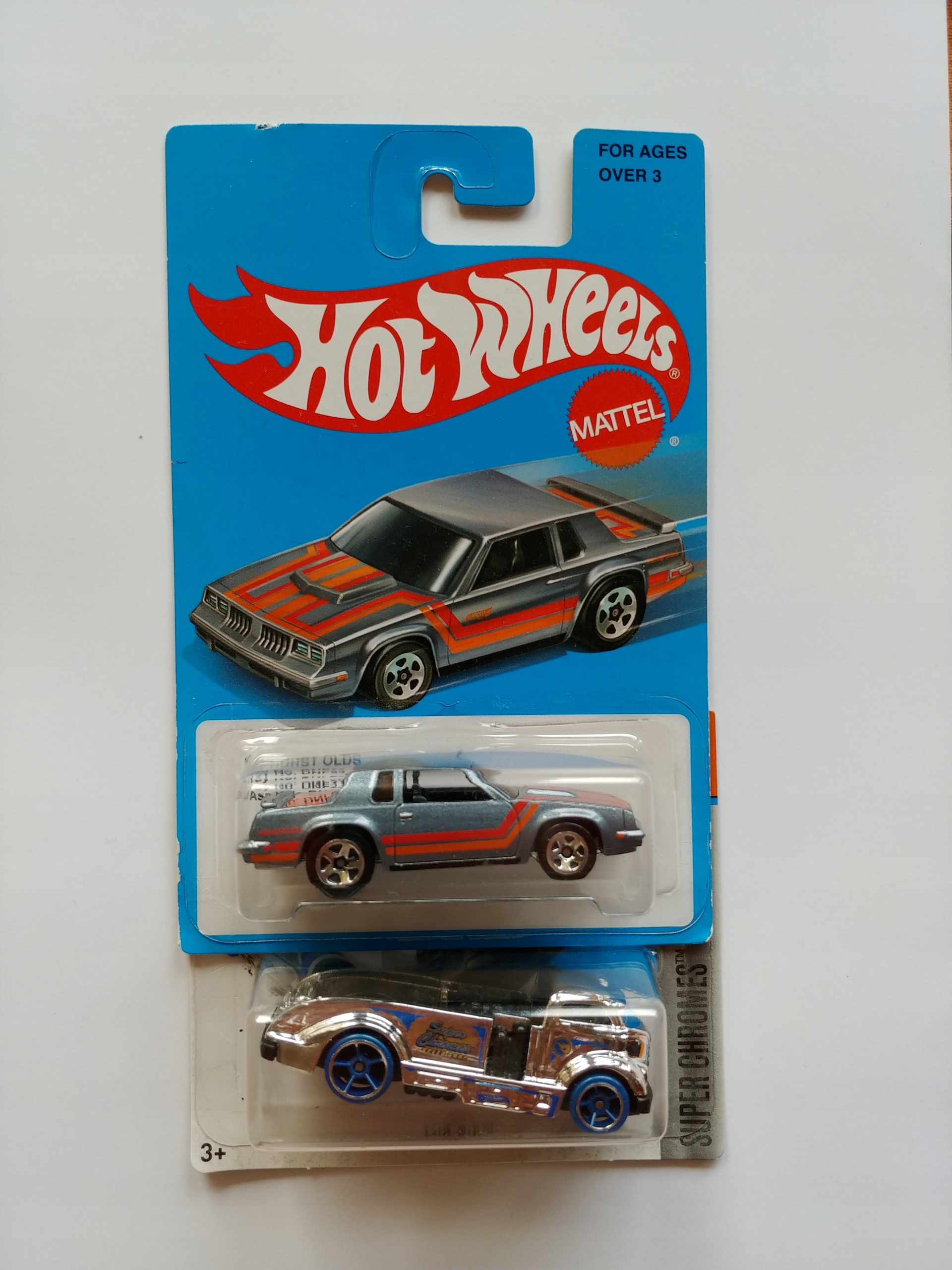 Hot Wheels Oldsmobile Mig Rig TREASURE HUNT