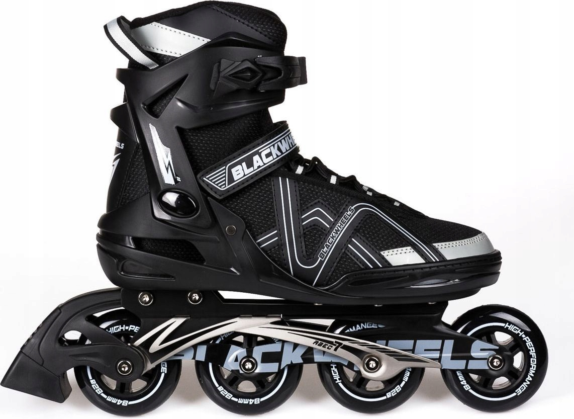 ROLKI ARROW KAUCZUK ABEC-7 ALU - Blackwheels r. 45