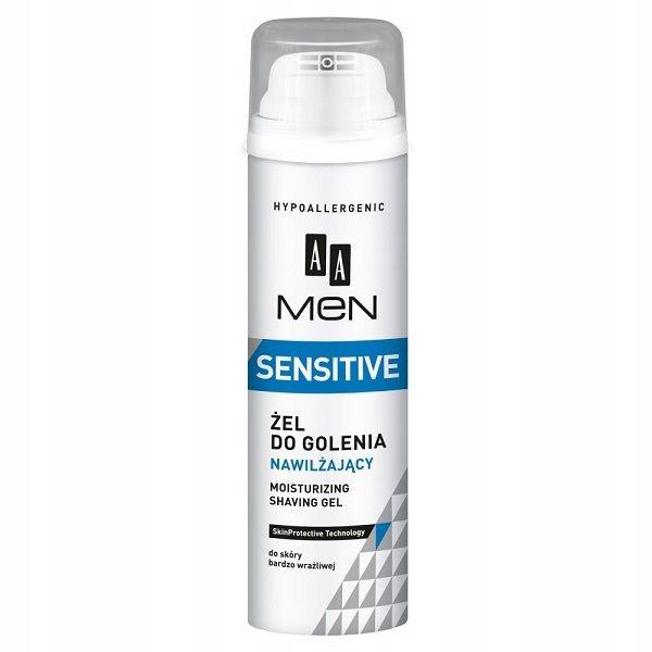 AA Men Sensitive Moisturizing Shaving Gel nawilżaj