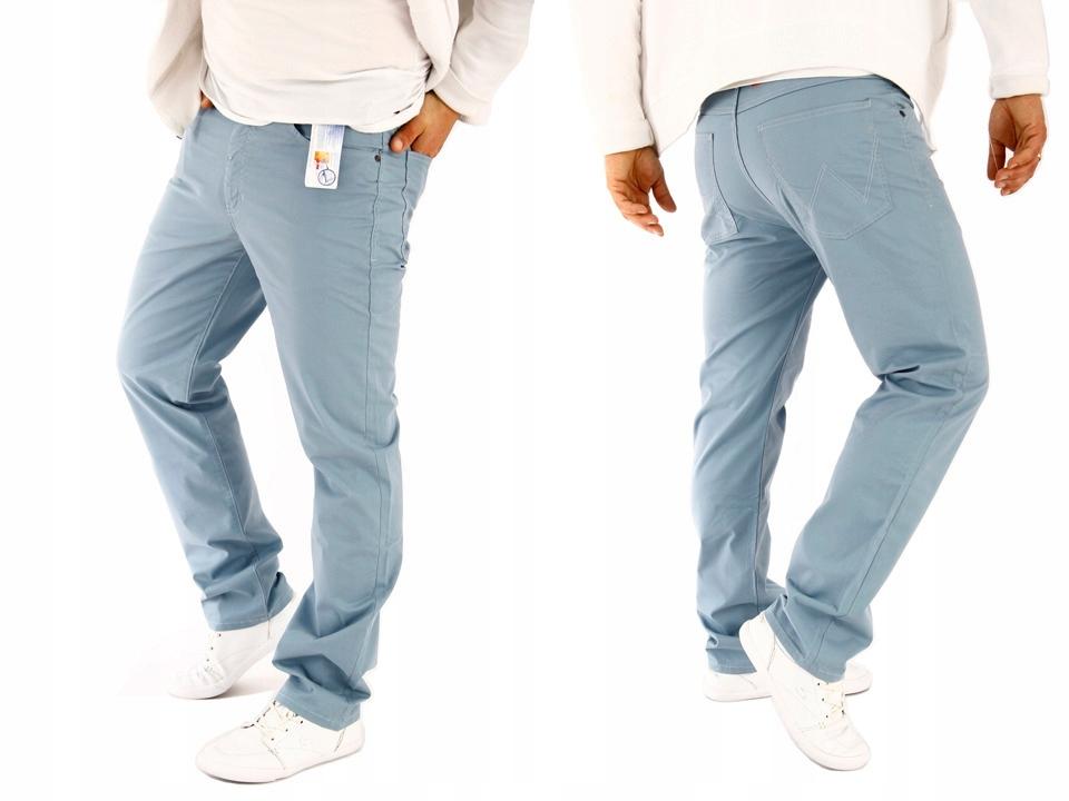 Spodnie WRANGLER ARIZONA Blue Materiałowe W38 L34