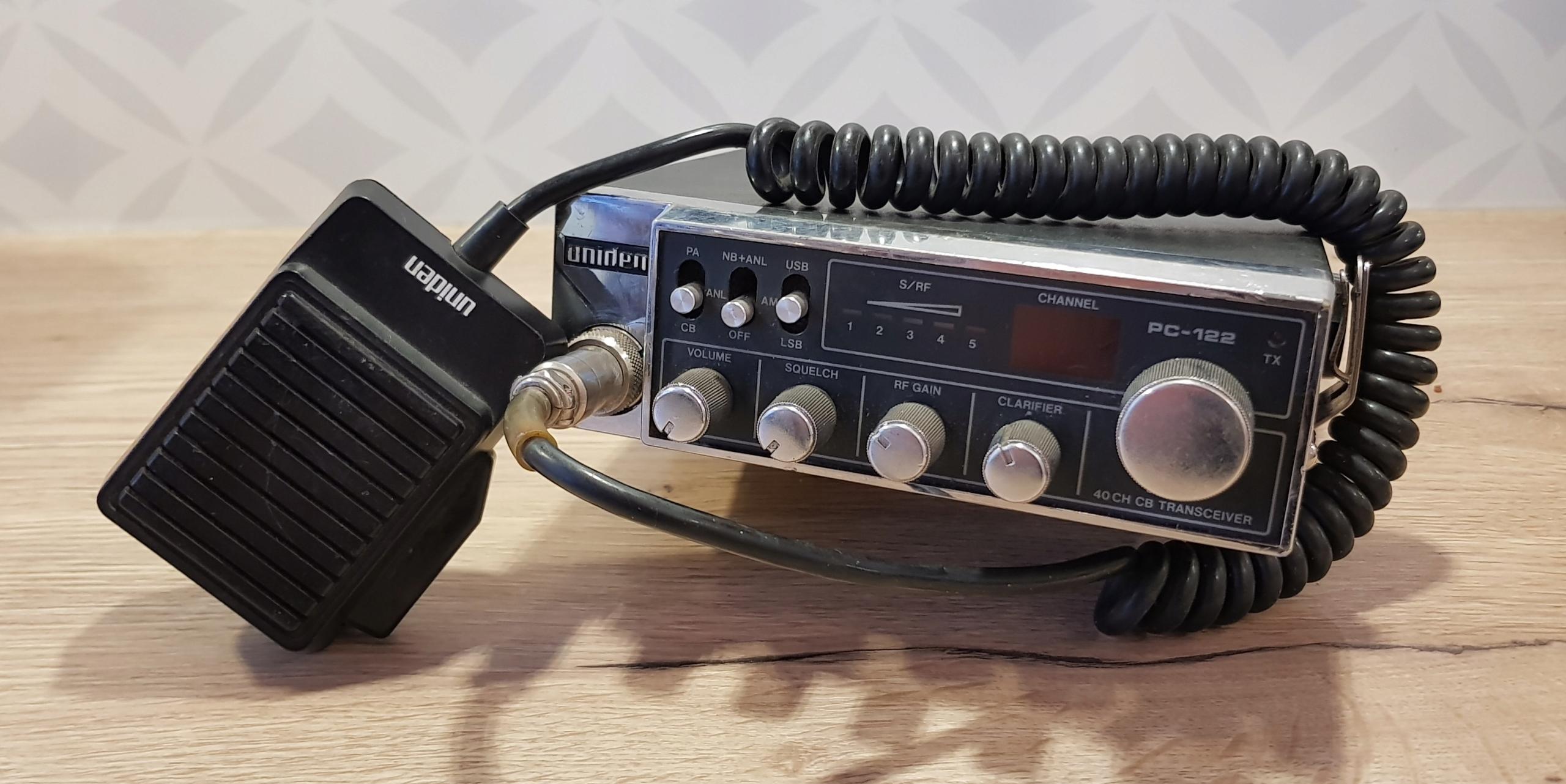 UNIDEN PC-122 PC122 Radio CB Połówki