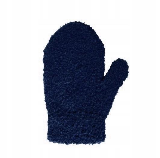 YO! rękawiczki dziecięce FROTA 92-104 navy 14cm