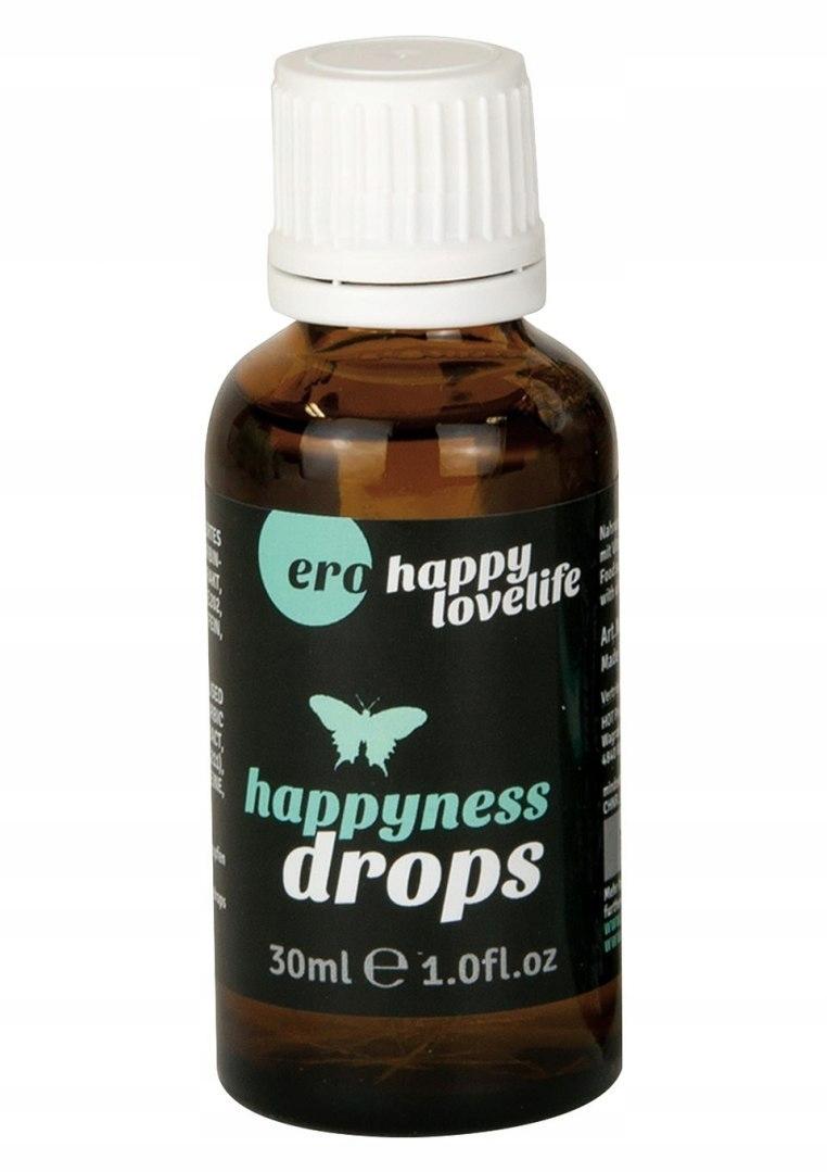 Happyness Drops 30 ml ZESTAW DLA DWOJGA AFRODYZJAK