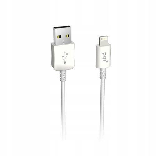 Lightning cable 100 cm; biały