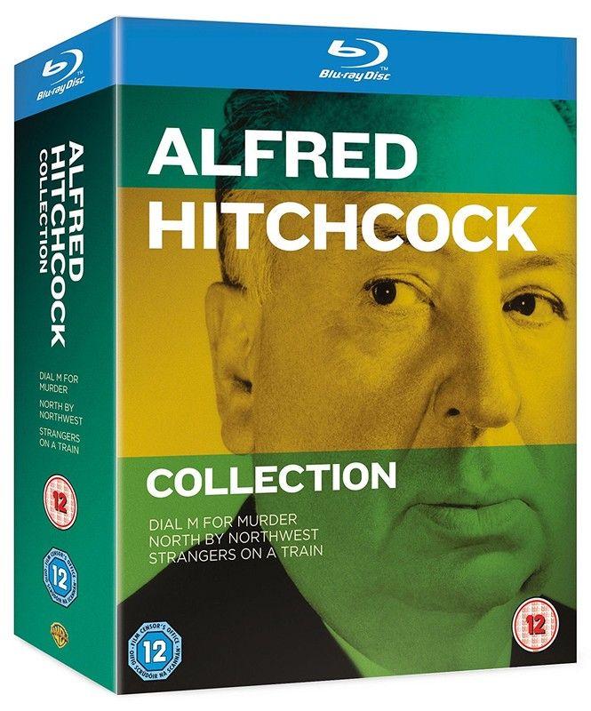 Alfred Hitchcock [3 Blu-ray] Kolekcja [1951-1959]