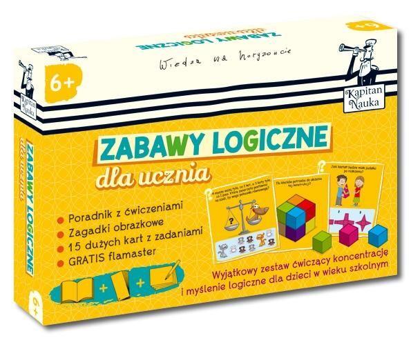 Kapitan Nauka Zabawy logiczne dla ucznia 6+ ŁÓDŹ +