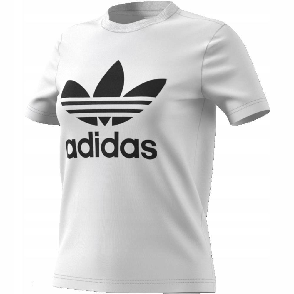 dostać nowe dobrze znany eleganckie buty Koszulka damska adidas Trefoil CV9889 36 - 7449656072 ...