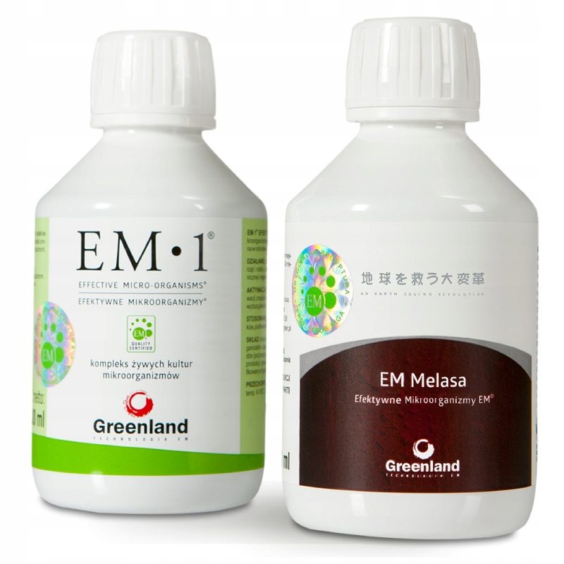 Zestaw: EM 1 + Melasa, poj. 200ml