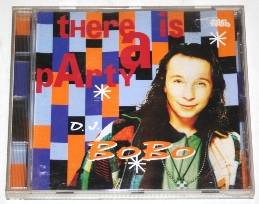 DJ Bobo - There Is A Party CD + GRATIS !!!