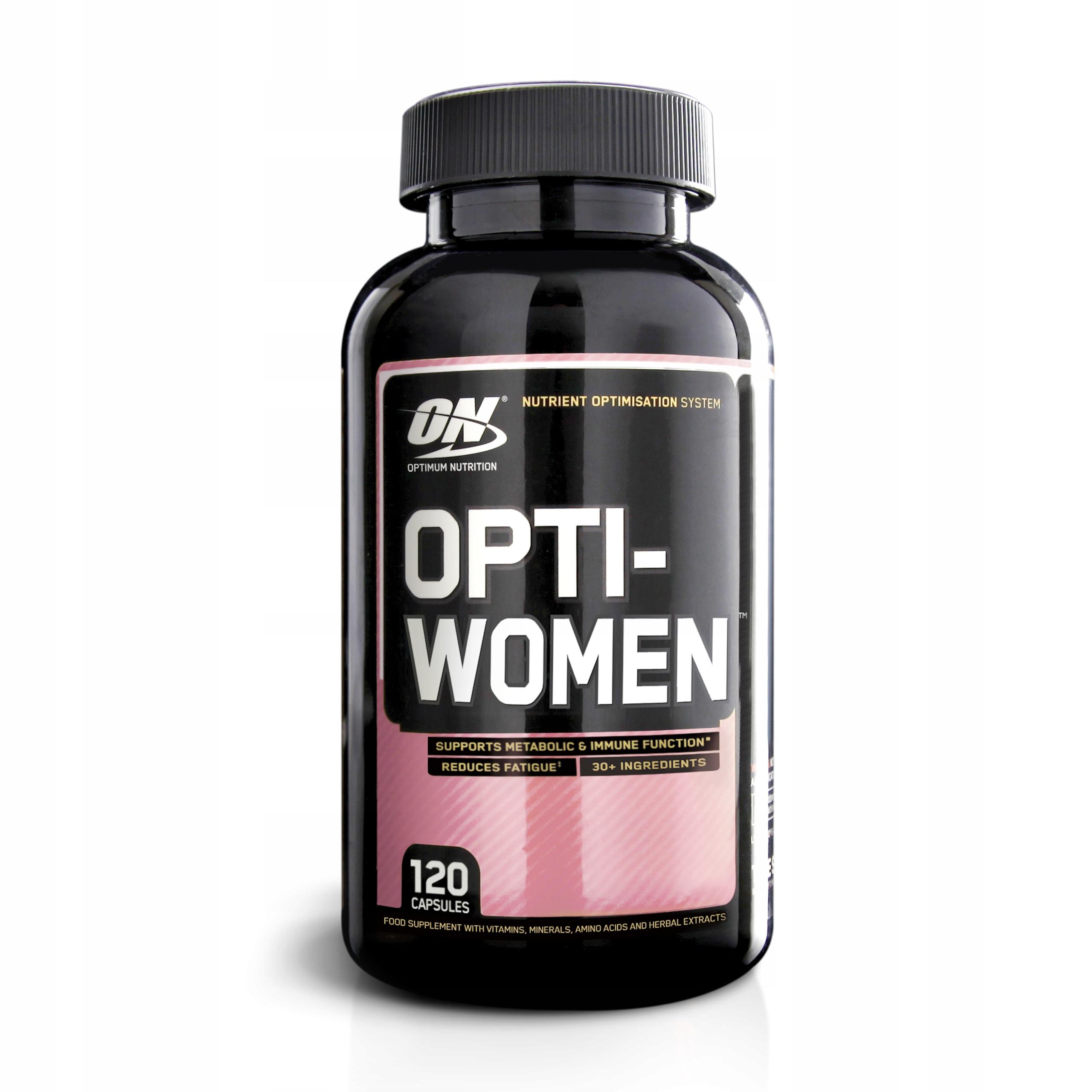 OPTIMUM OPTI WOMEN 120cap WITAMINY MINERAŁY Z USA