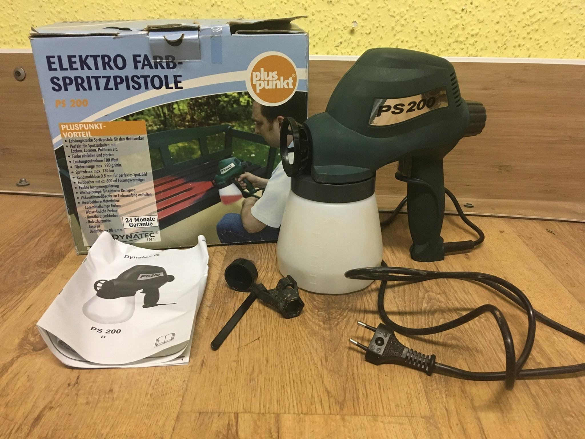 pistolet malarski elektryczny DYNATEC PS200