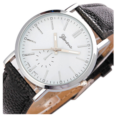Zegarek Damski Klasyczny Czarny Złoty srebrny