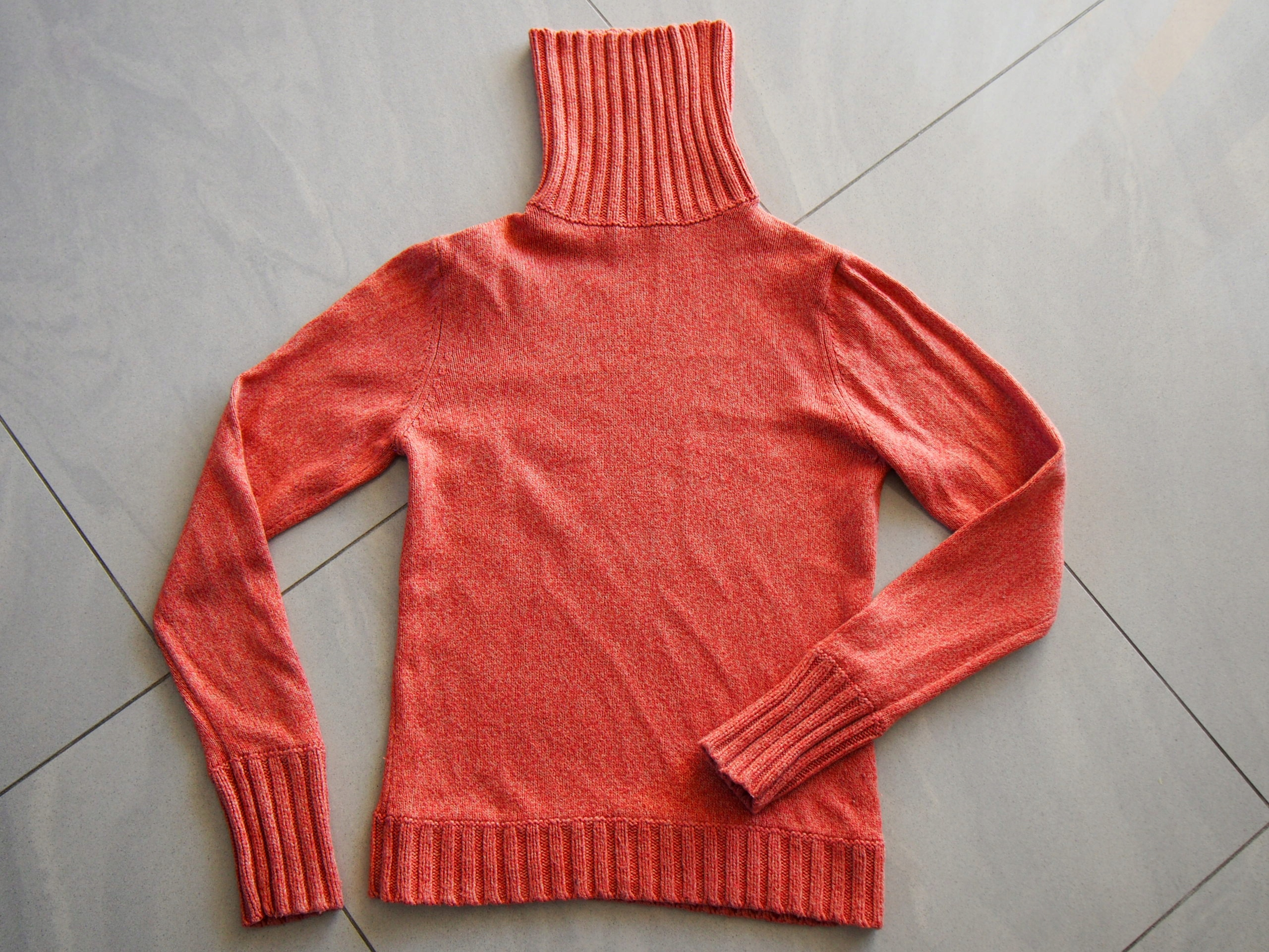 Golf sweter damski 36 Marks & Spencer rudy
