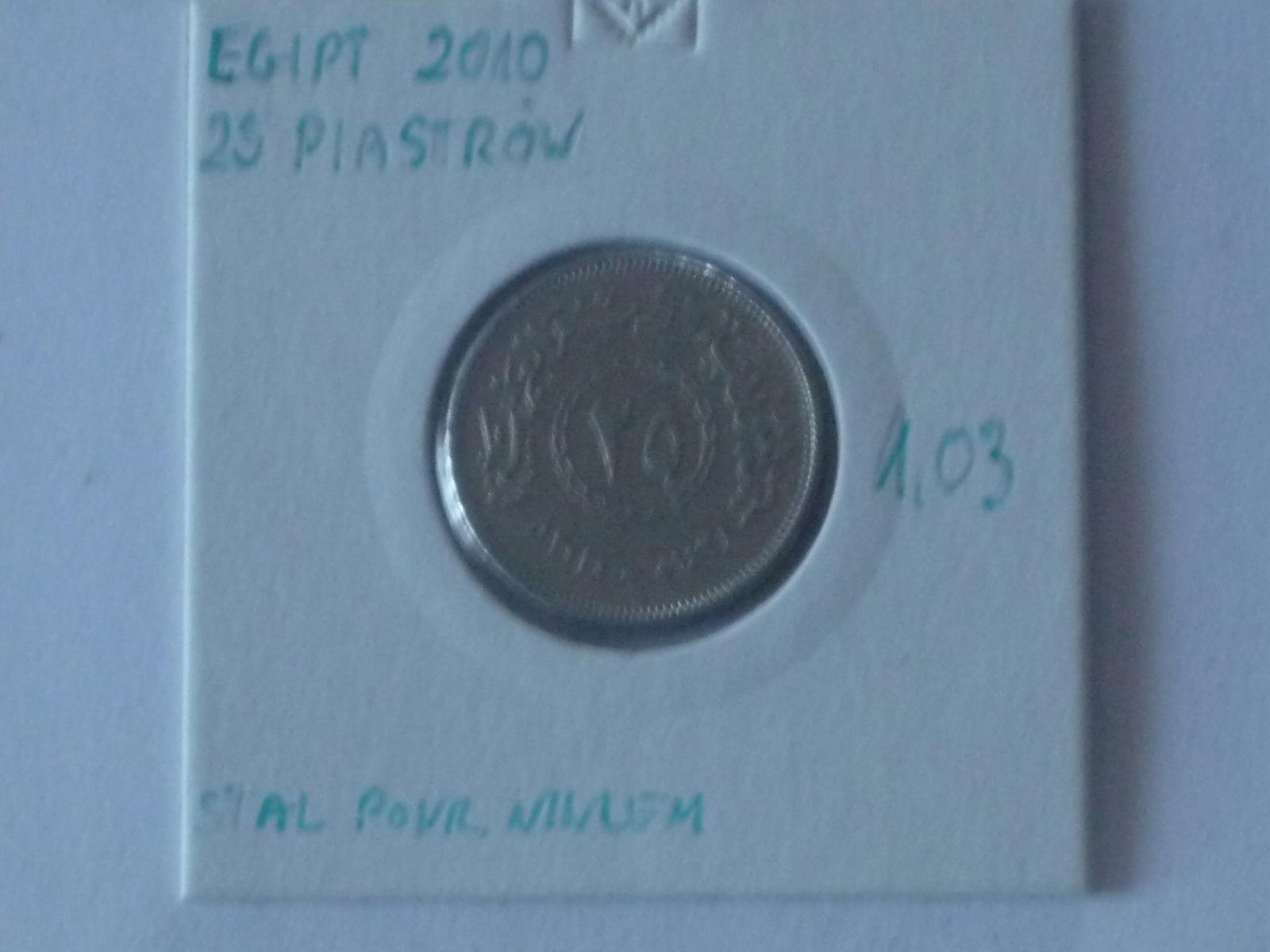 25 piastrów 2010 Egipt st.III