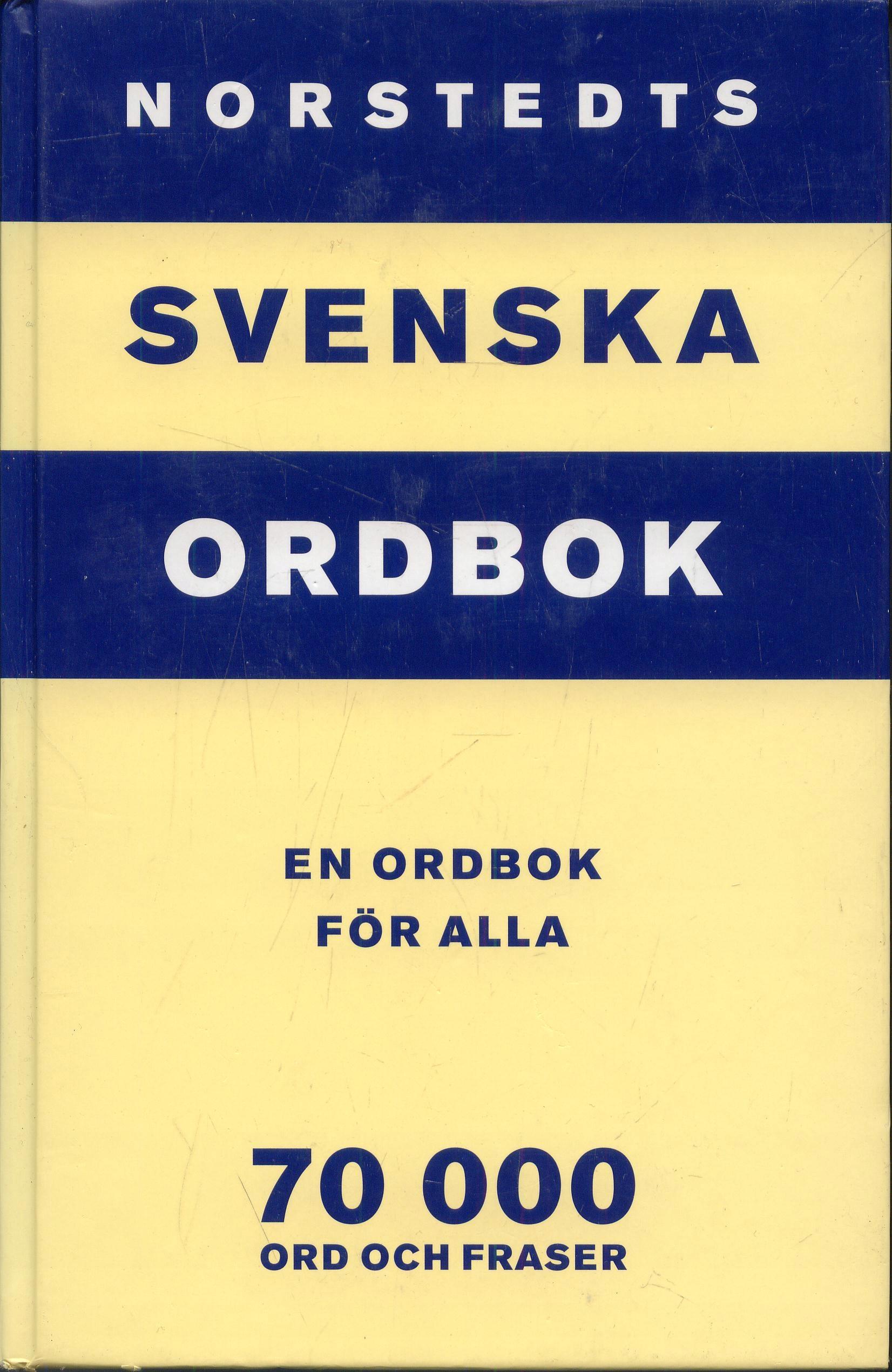 ATS - Norstedts svenska ordbok En ordbok for alla
