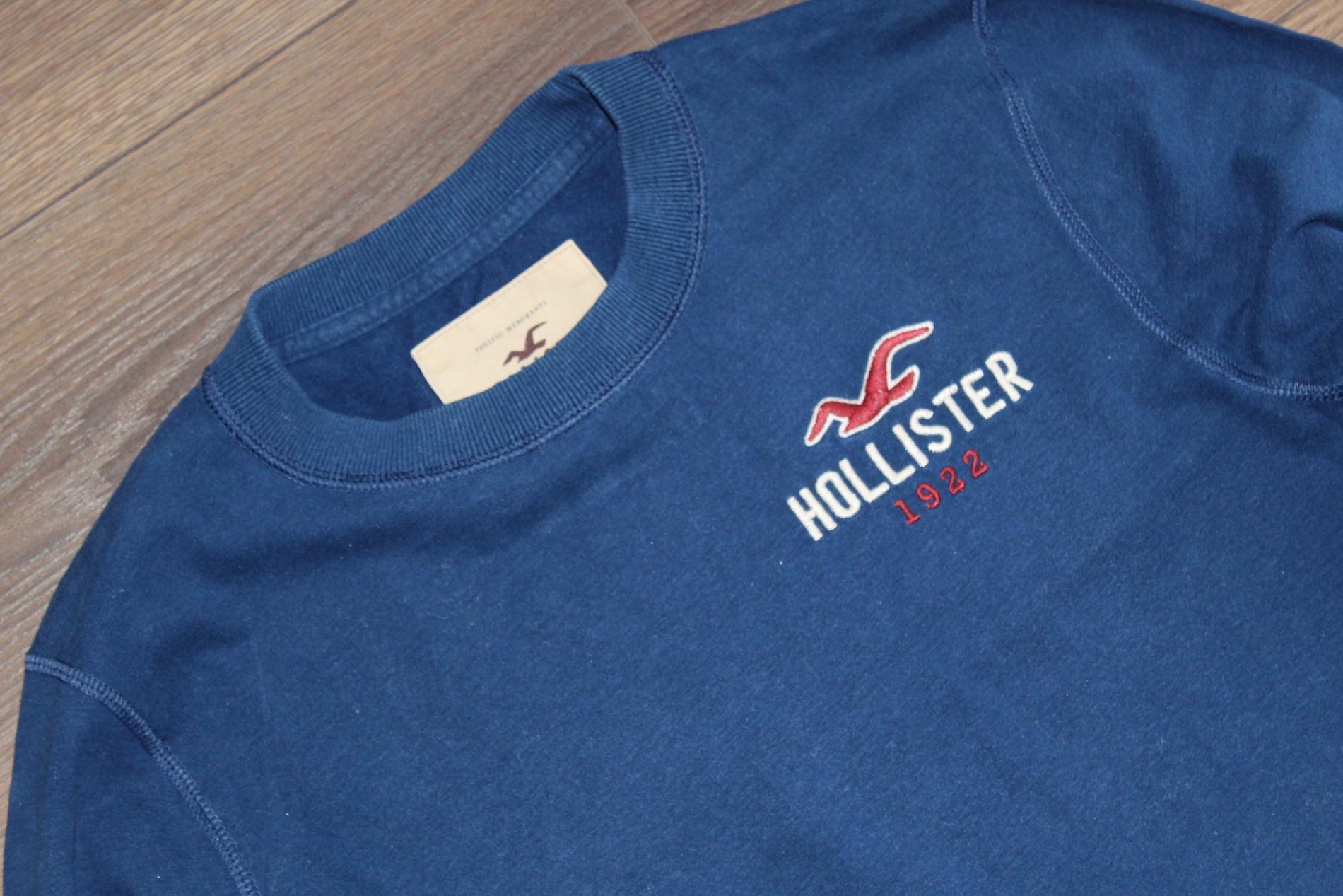 _HOLLISTER markowa oryginalna bluzka r.M