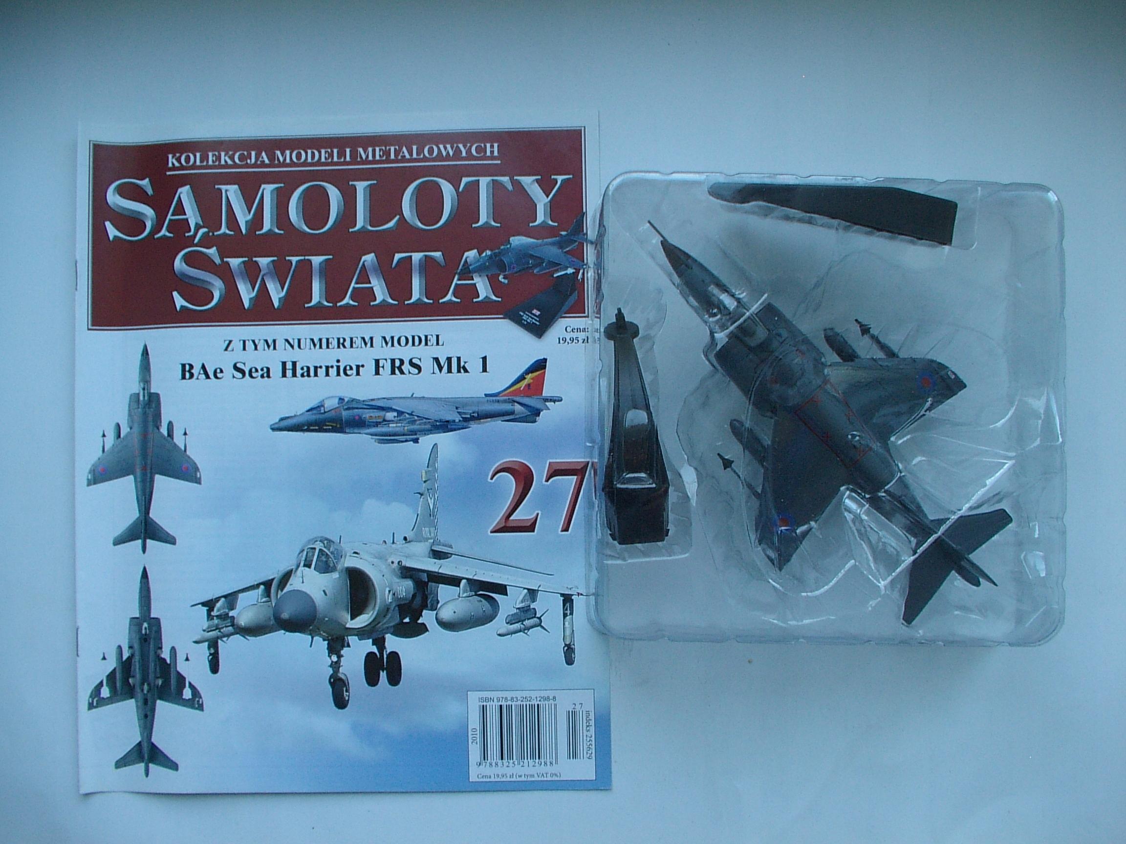 BAE sea Harrier FRS. Mk1 Samoloty Świata Nr 27