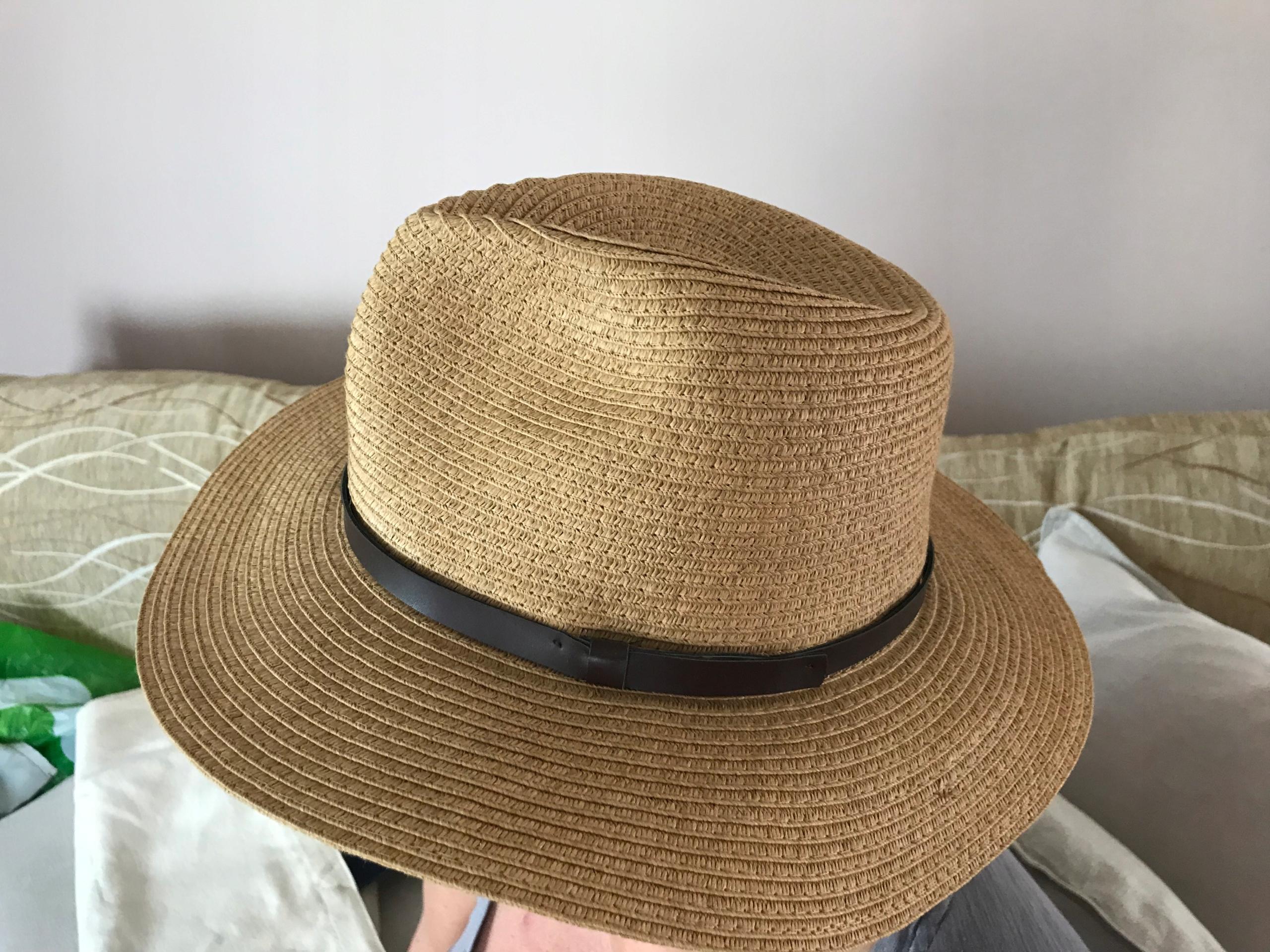 Stradivarius kapelusz plaża lato