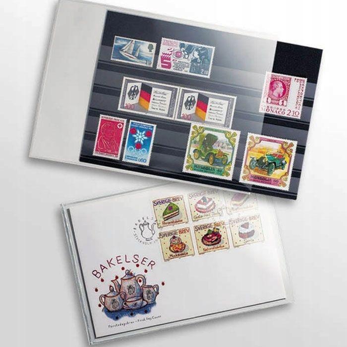 Kieszenie ochrona na pocztówki 145 x 95 mm - 50szt