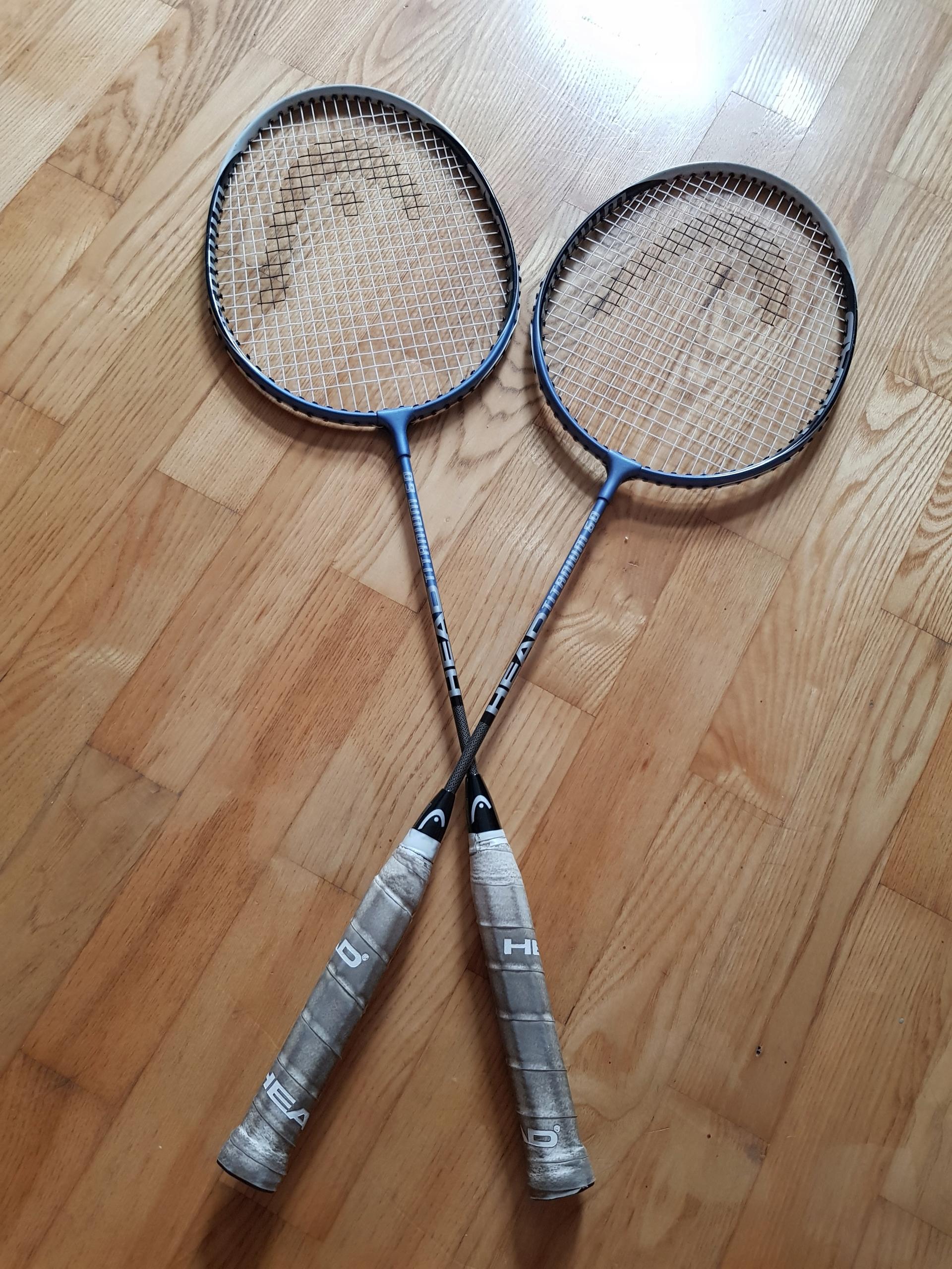Rakiety badminton Head