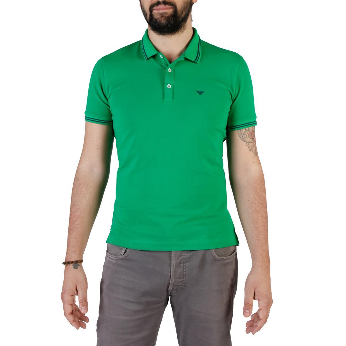 Emporio Armani koszulka męska polo T-shirt S