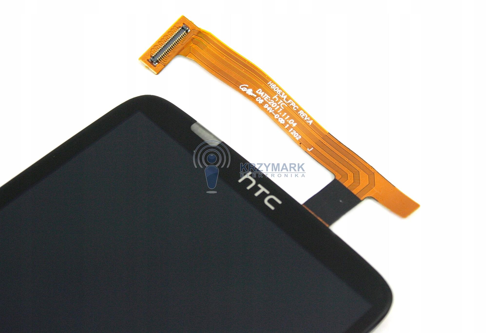 LCD WYŚWIETLACZ DIGITIZER DOTYK HTC ONE CZARNY X