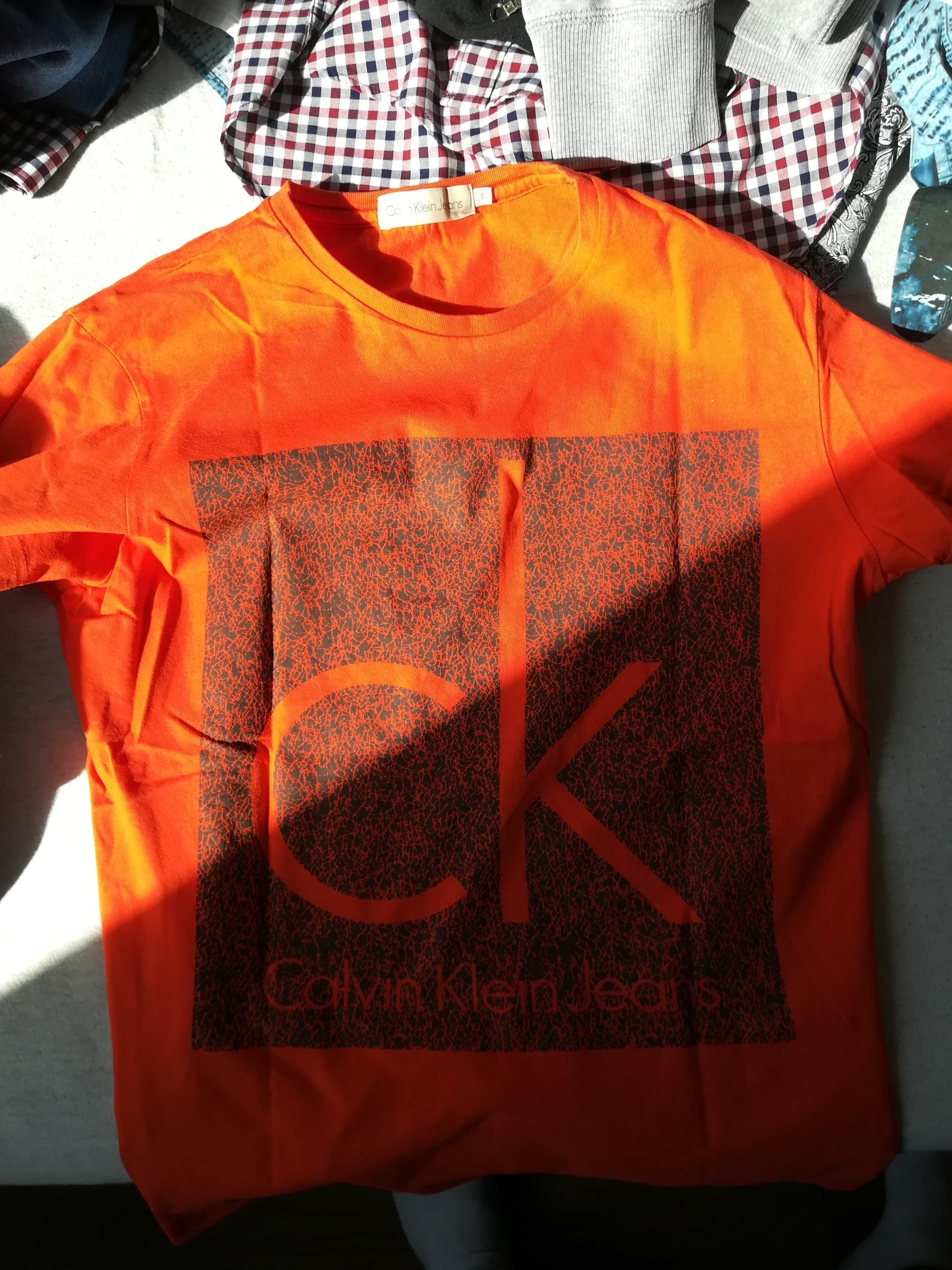 Calvin Klein T-shirt stan 8/10 rozmiar s