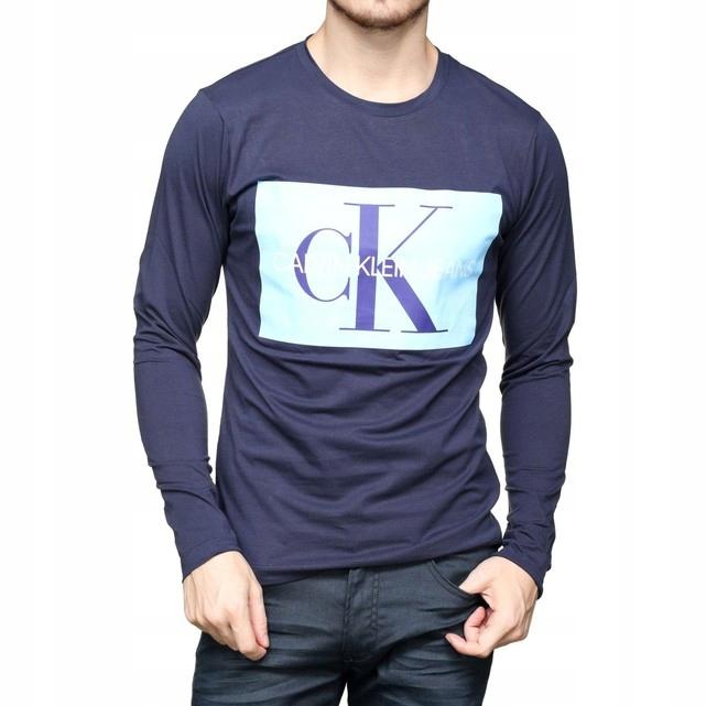 CK CALVIN KLEIN LONGSLEEVE ORYGINALNA BLUZKA XL