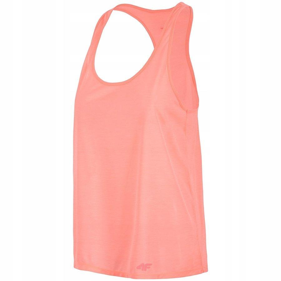 Koszulka 4F H4L18-TSDF006 63S XL pomarańczowy