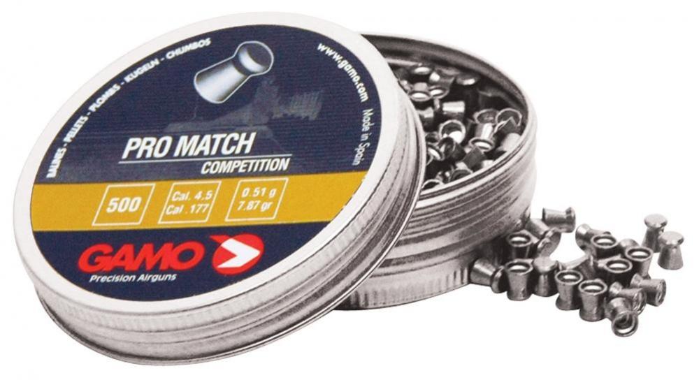 Śrut Gamo Pro Match 4,5 mm 500 szt.