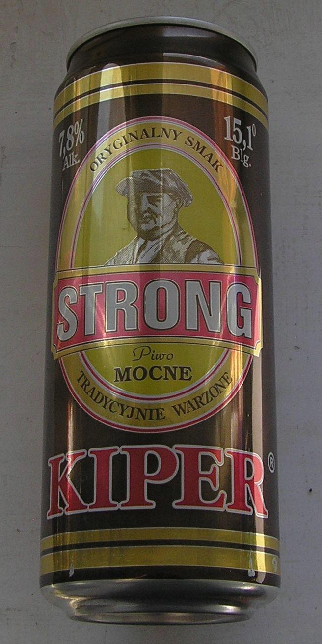 PUSZKA PIWO KIPER STRONG MOCNE PIOTRKÓW 1997