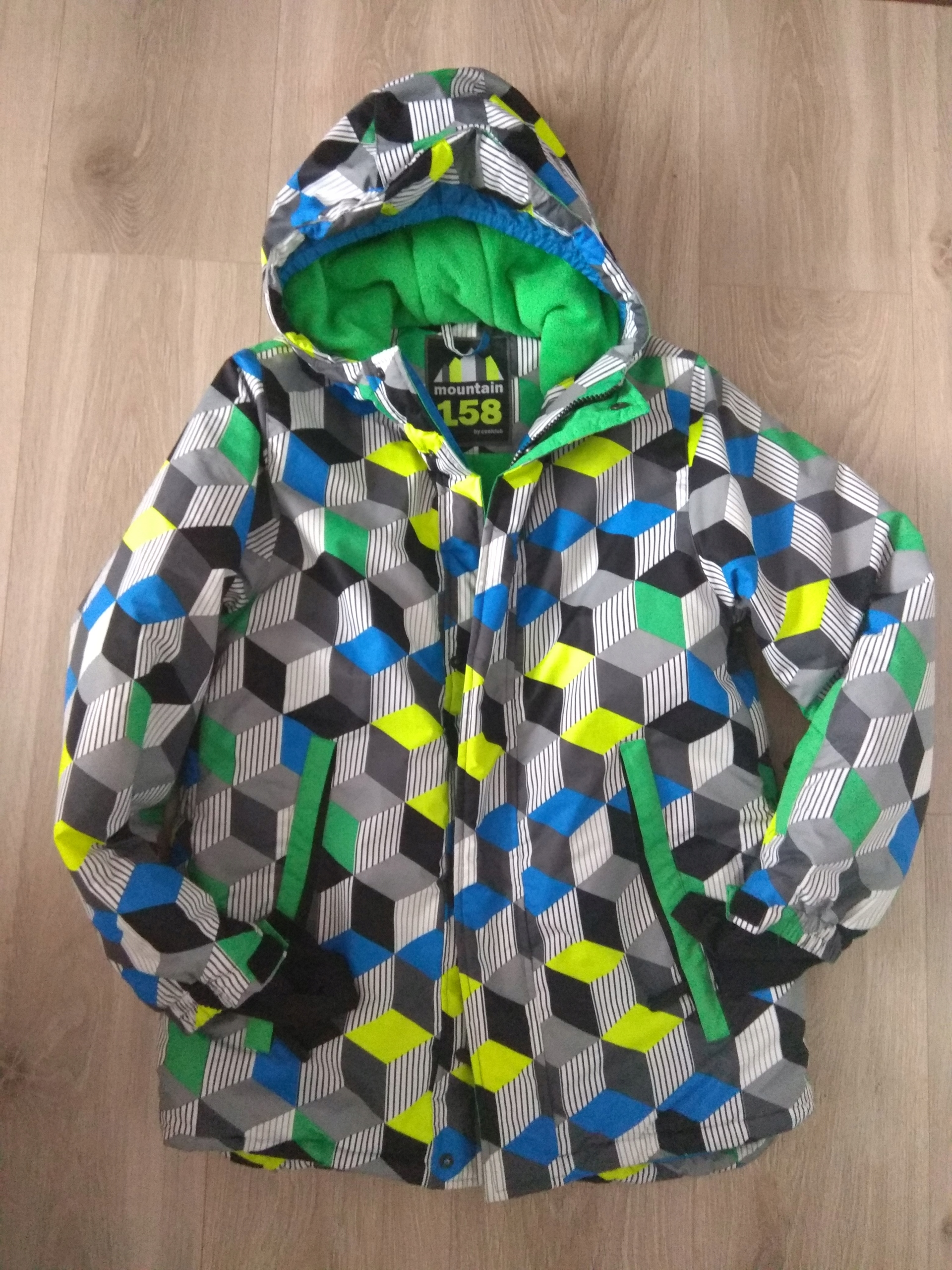 Smyk cool club_kurtka zimowa narciarska 158
