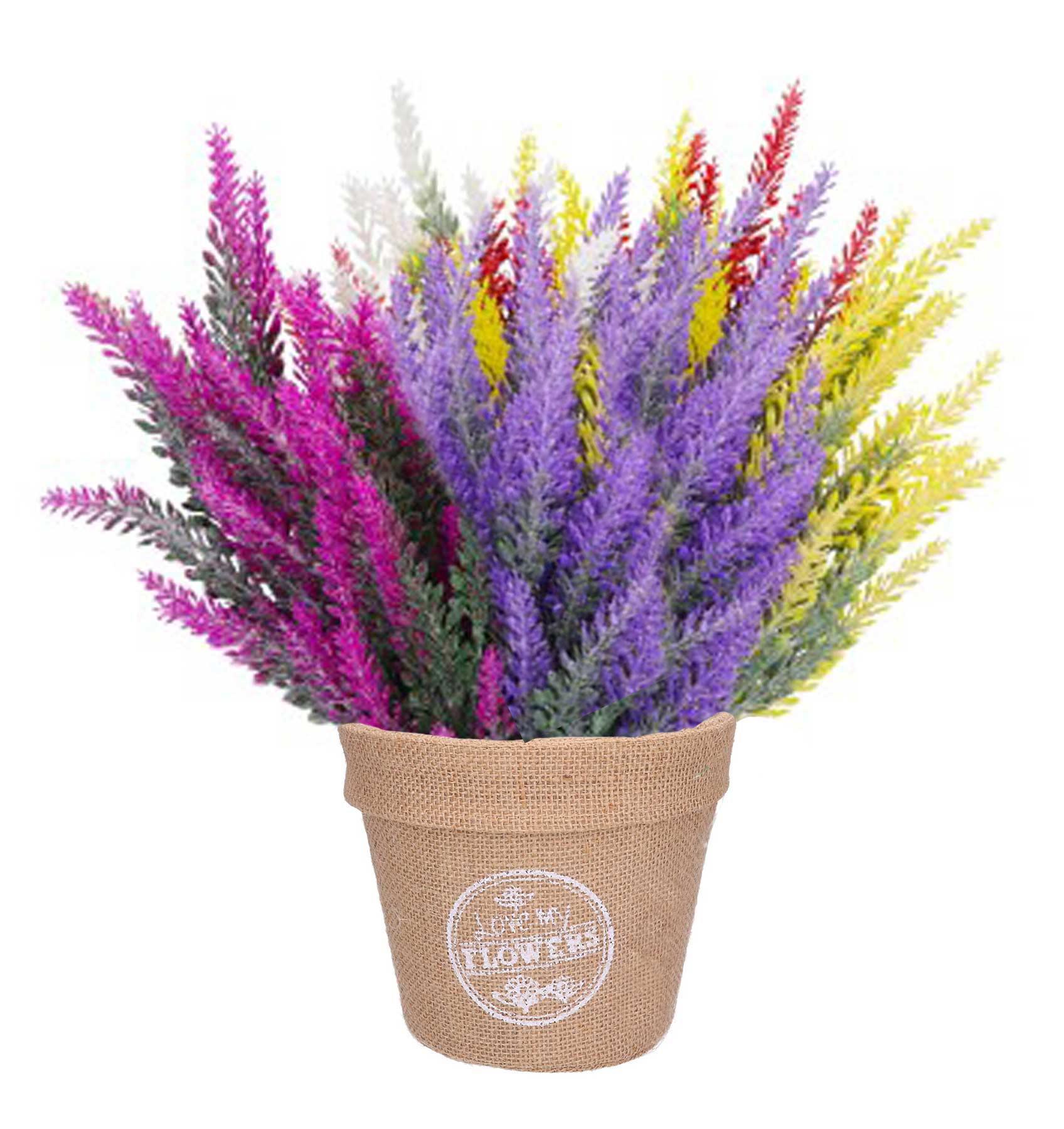 Doniczka Osłonka Na Wrzosy Kwiaty Jutowa Juta 15cm