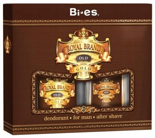 BI-ES Royal Brand Gold zestaw kosmetyków dla Panów