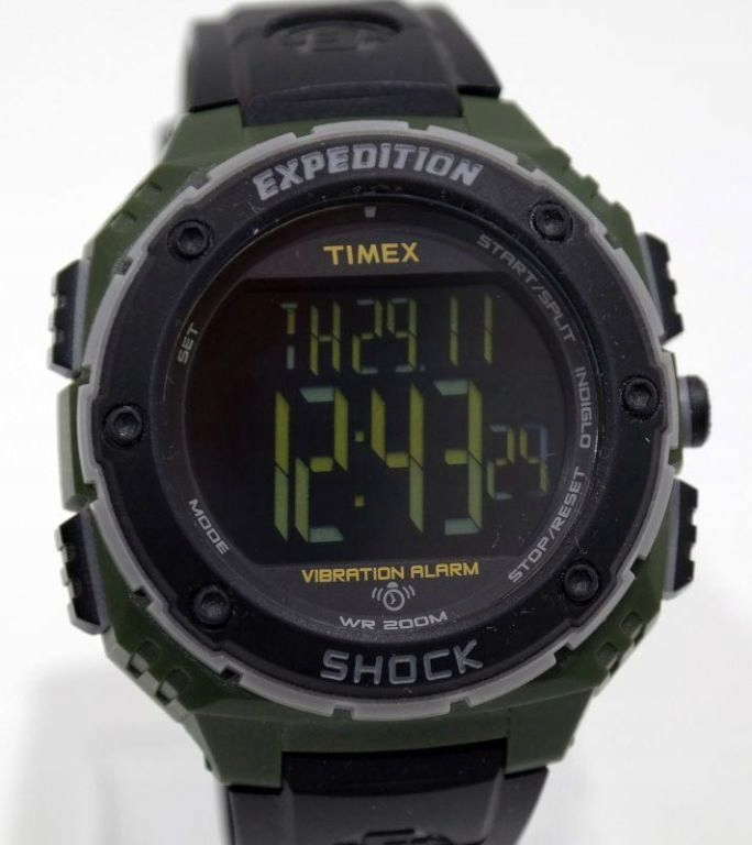TIMEX T49951 #SHOCK EXPEDITION