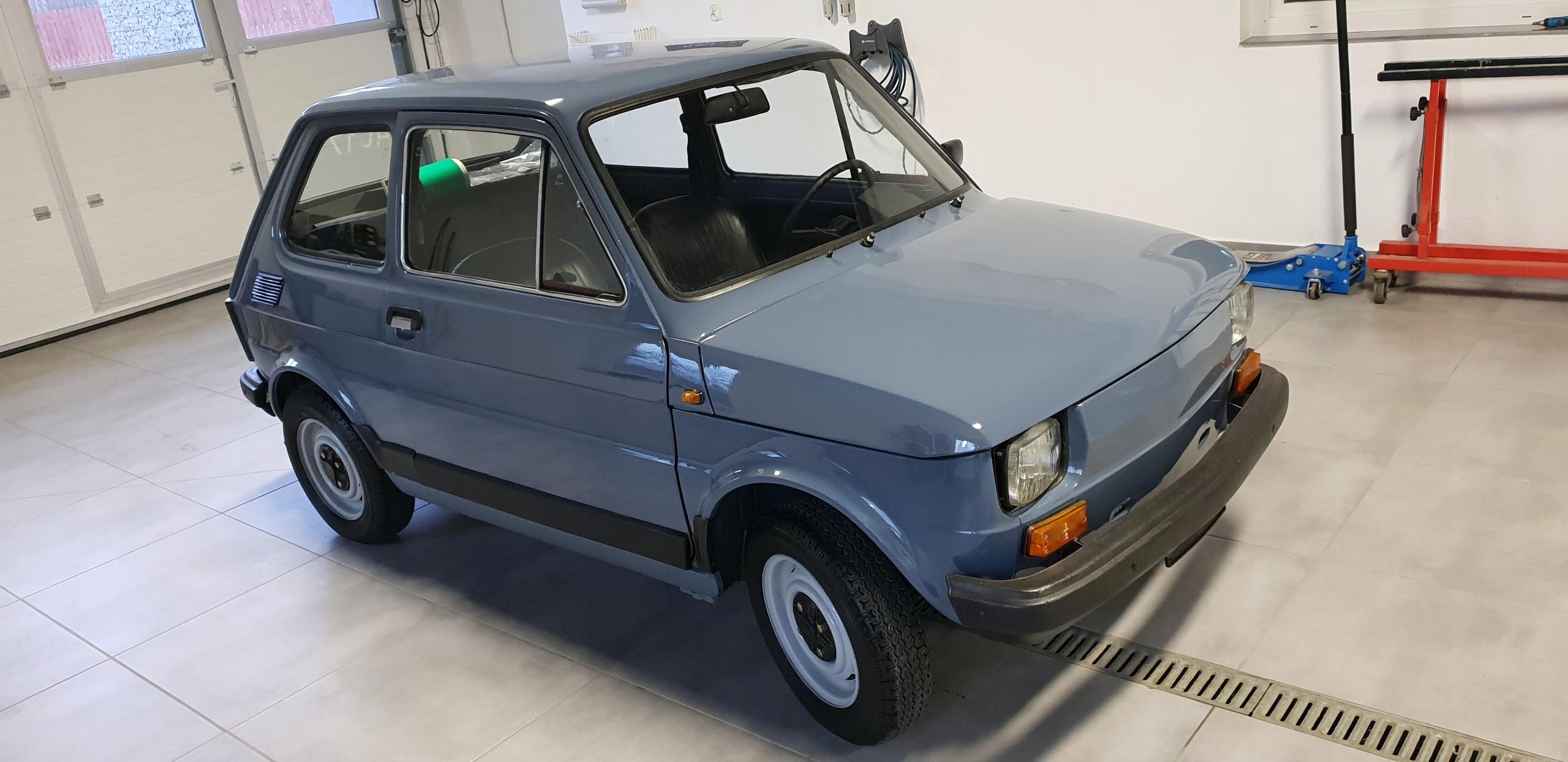 FIAT 126P ROK PRODUKCJI 1986 NOWY 1400 KM
