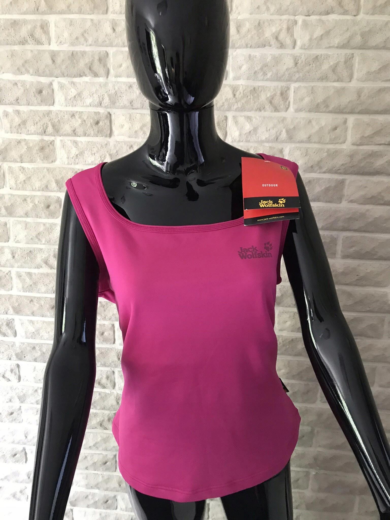 1084606ad7f006 Jack Wolfskin różowa bluzka damska rozmiar XL - 7536033000 ...