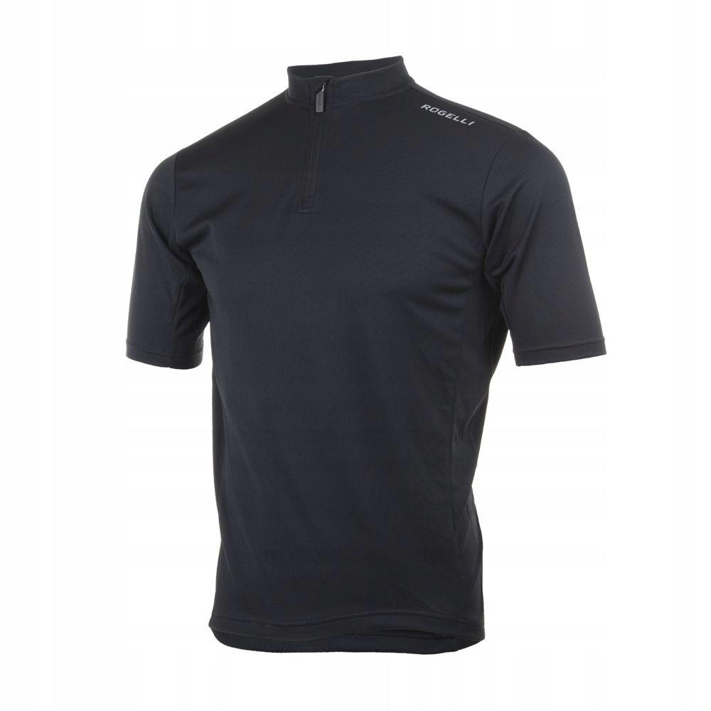 ROGELLI BASE męska koszulka rowerowa czarna r.XL