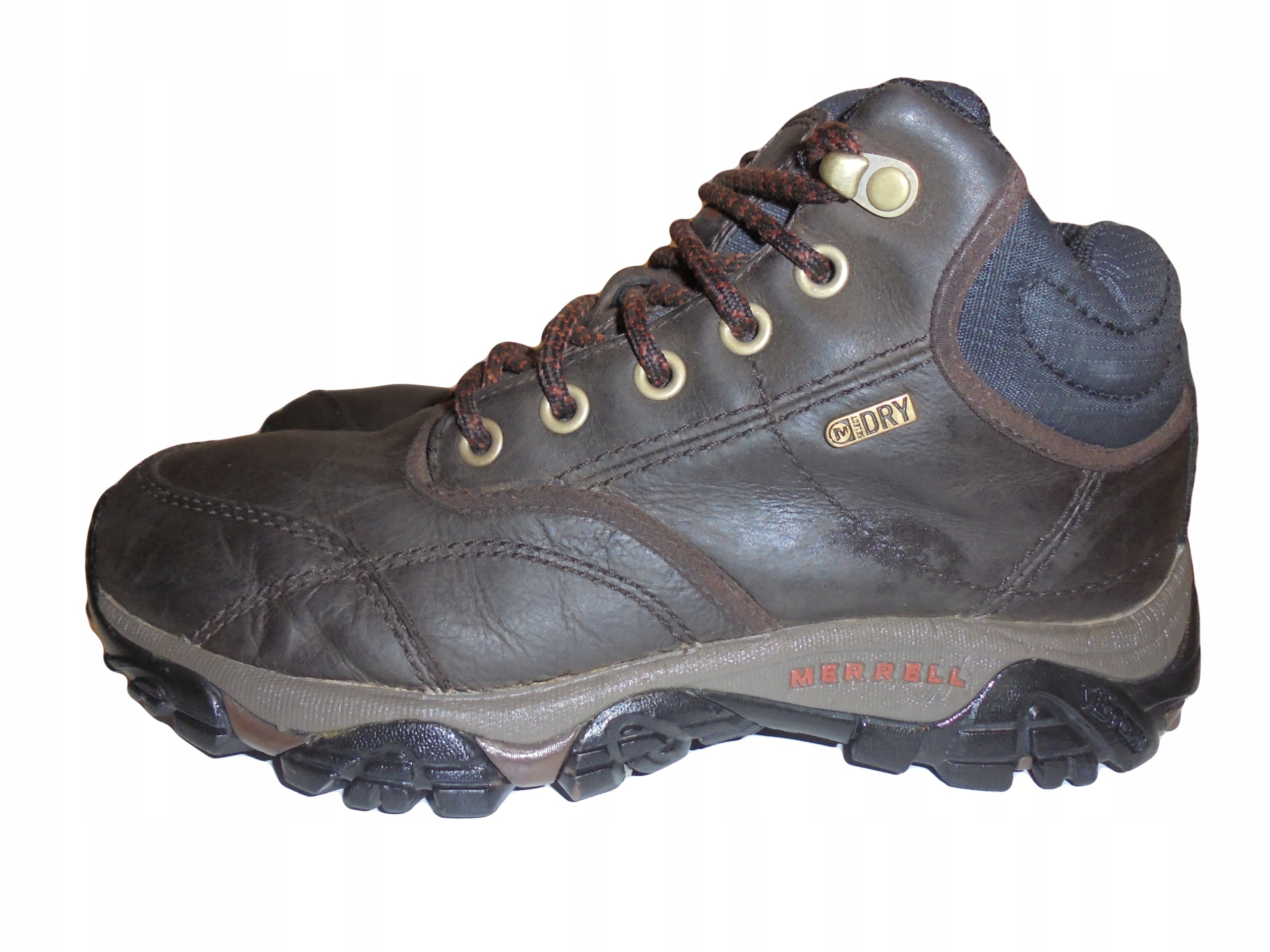 6c66c4e15485e Skórzane buty Merrell z membraną. Rozmiar 41. - 7701985438 ...