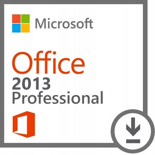Microsoft Office 2013 PL Faktura Vat 23%